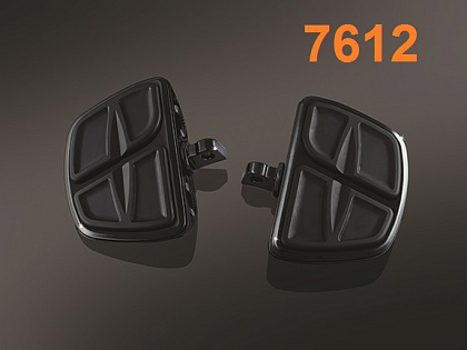 Площадки Gloss Black Kinetic Mini 12см х 14см (пара)
